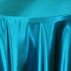 Rental Heavy Duty Satin Round Tablecloth - Oasis