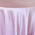 Rental Heavy Duty satin round tablecloth - Lavender
