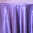 Rent satin round tablecloth- Regency