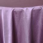Rental Heavy Duty satin round tablecloth - Wisteria