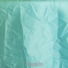 Rental Table Napkin Crushed Taffeta - Tiffany Blue - Aqua