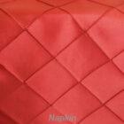 Rental Table Napkin Pintuck Taffeta - Apple Red