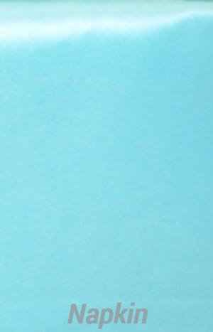 Rental Table Napkins Satin - Pool Blue