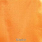Rental Table Napkins Satin - Tangerine