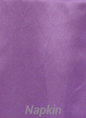 Rental Table Napkins Satin - Victoria Lilac