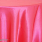 Rental Table Overlay Satin Square - Fuchsia