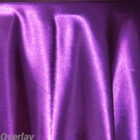 Rental Table Overlay Satin Square - Purple