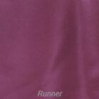 Rental Table Runner Satin - Plum