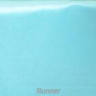 Rental Table Runner Satin - Pool Blue