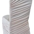 Rouge Spandex Chair Covers - Champagne