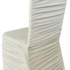 Rouge Spandex Chair Covers - Ivory