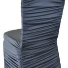 Rouge Spandex Chair Covers - Pewter