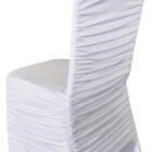 Rouge Spandex Chair Covers - White