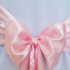 Rental Chair Sashes Satin - Pink