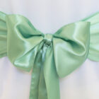 Rental Chair Sashes Satin - Sage Green