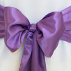 Rental Chair Sashes Satin - Victoria Lilac