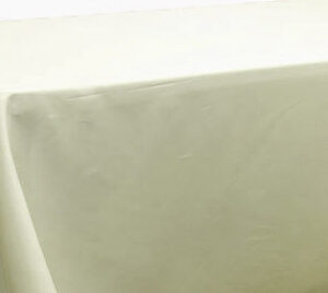 Polyester Tablecloth Rectangular 90 x132 - Ivory
