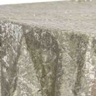 Round Tablecloth Diamond Glitz Sequins 132 - Champagne