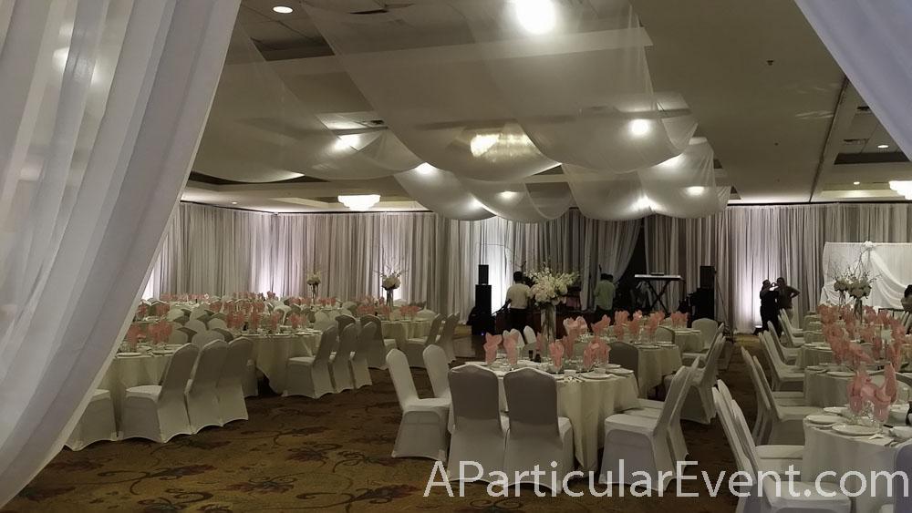 Kim Son Ballroom Venue Wall Draping Backdrops Special