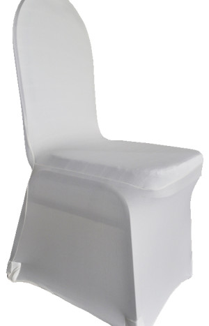 Spandex Chair Covers - Ivory