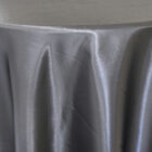 Rent Heavy Duty Satin Round Tablecloth - Black