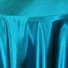 Rental Heavy Duty Satin Round Tablecloth - Oasis