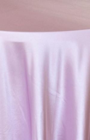 Rental Heavy Duty satin round tablecloth - Lavender