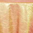 Rental Table Linen Crushed Taffeta Round Tablecloth - Gold