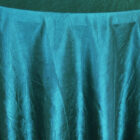 Rental Table Linen Crushed Taffeta Round Tablecloth - Oasis