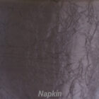 Rental Table Napkin Crushed Taffeta - Black