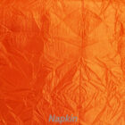 Rental Table Napkin Crushed Taffeta - Orange