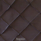 Rental Table Napkin Pintuck Taffeta - Black