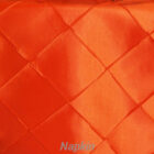 Rental Table Napkin Pintuck Taffeta - Orange