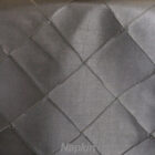Rental Table Napkin Pintuck Taffeta - Pewter