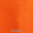 Rental Table Napkins Satin - Orange