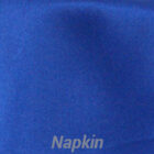 Rental Table Napkins Satin - Royal Blue