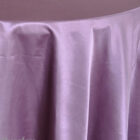 Rental Table Overlay Satin Square - Wisteria