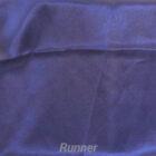 Rental Table Runner Satin - Navy Blue
