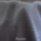 Rental Table Runner Satin - Pewter