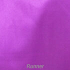 Rental Table Runner Satin - Purple