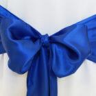 Rental Chair Sashes Satin - Royal Blue