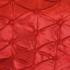 Rental Table Runner Pinchwheel Taffeta - Apple Red