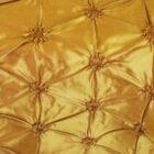 Rental Table Runner Pinchwheel Taffeta - Gold