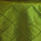 Rental Table Runner Pintuck Taffeta - Moss Green