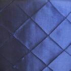 Rental Table Runner Pintuck Taffeta - Navy Blue