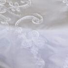 Rental Table Runner Ribbon Taffeta - White
