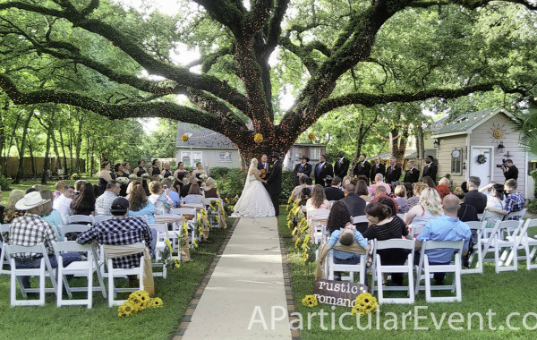 Oak Tree Spring TX Wedding