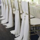 Chiavari Chair Cover Treatment - Ivory