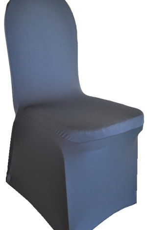 Spandex Chair Covers - Pewter